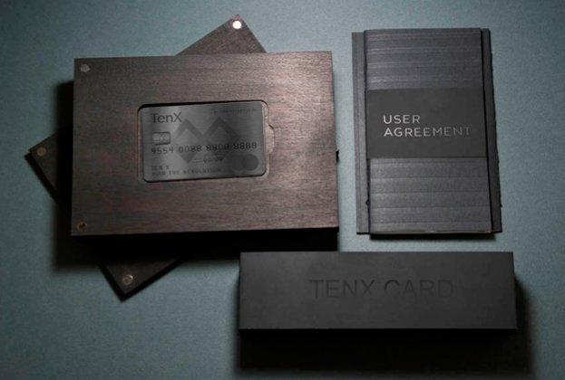 仮想通貨デビットカードのTenX(テンネクス)申し込み方法