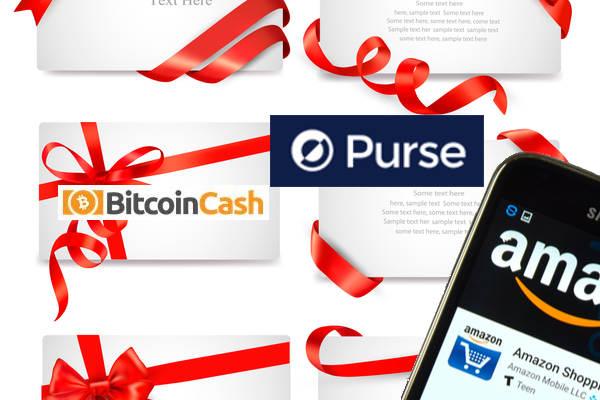 Bitcoinを使ってAmazonで買い物できるPurse.io、ビットコインキャッシュ(BCH)対応にアップデート