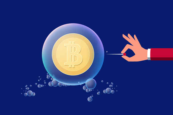 ビットコインはバブルである