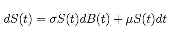 ビットコインのボラティリティの計算式