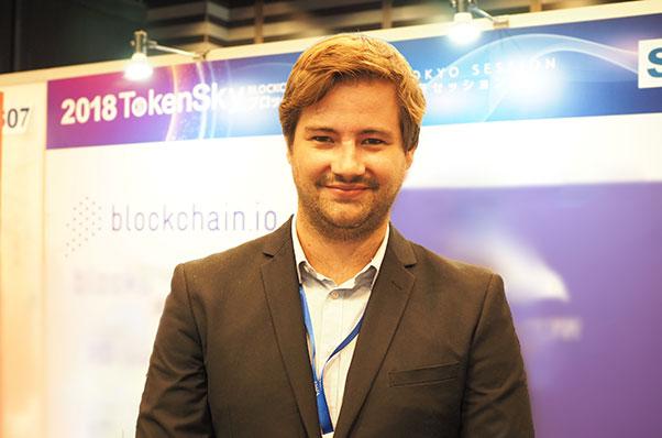 """取引所""""Blockchain.io""""インタビュー"""