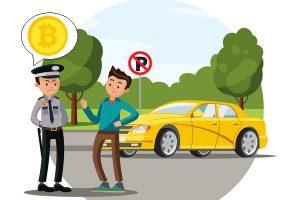 仮想通貨を差し押さえ駐車違反金、兵庫県警が全国初