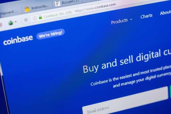 コインベース取引量1月から83%減、一方オフショア取引所は増加