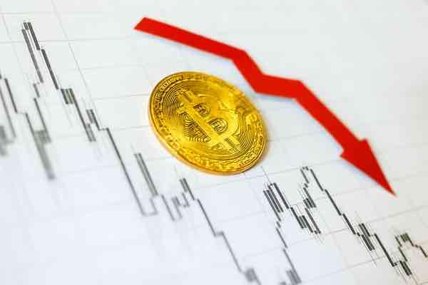 ビットコイン 下落