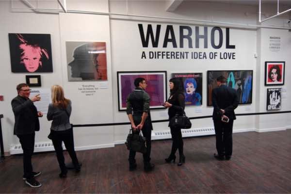 アンディ・ウォーホルの数百万ドルの絵画がブロックチェーンでトークン化