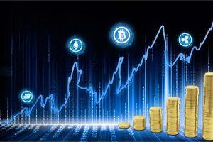 リップルとビットコインキャッシュが回復で市場時価総額は120億ドル増加
