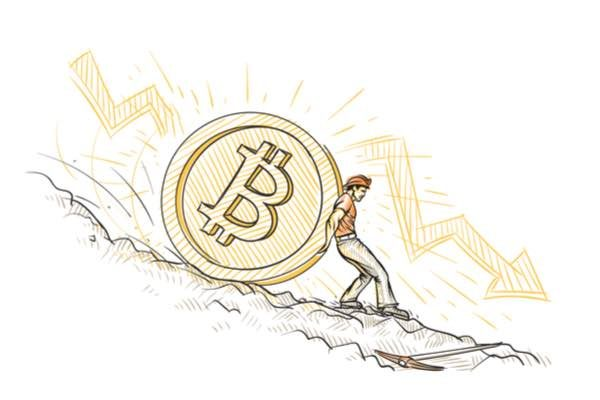 ビットコインは200ドル下落、2週間ぶり最安値