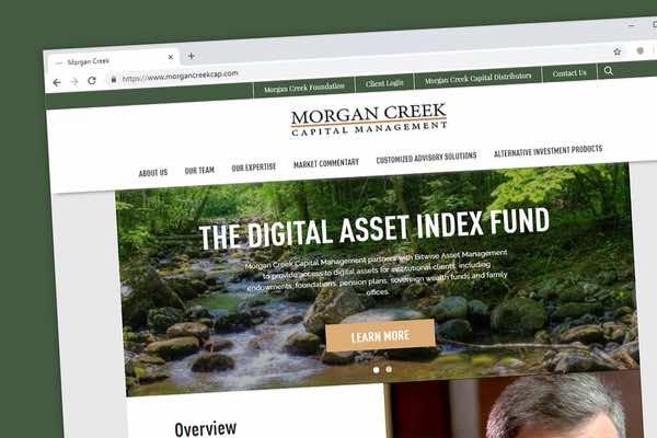 Morgan Creek Digitalが仮想通貨に100万ドルの賭け、S&P500を上回ると予想