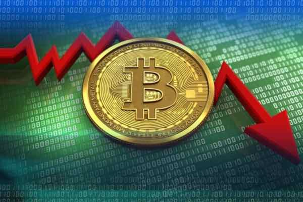 ビットコインは週末で昨年12月の水準に下落