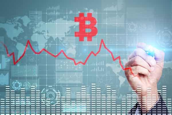 ビットコインは下落、一方株式市場は日米関係回復の兆しで上昇