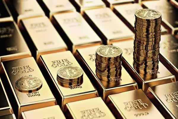 ビットコインとゴールドに相関関係