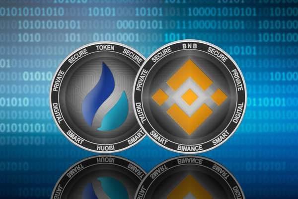 大手取引所のコインが急上昇。バイナンスコイン Huobi Token