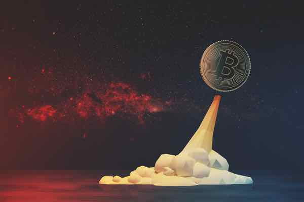 ビットコイン急伸、次のターゲットは6000ドルか?