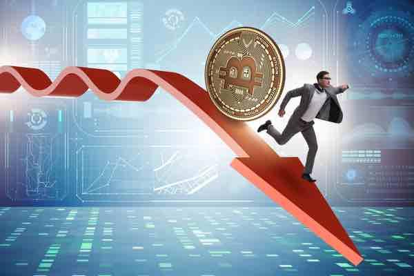 乱高下の続くビットコイン 続落でスタート地点に逆戻りか