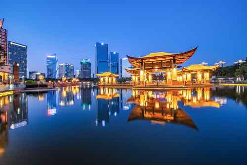 中国広東省 ブロックチェーンプラットフォームローンチで中小企業で融資
